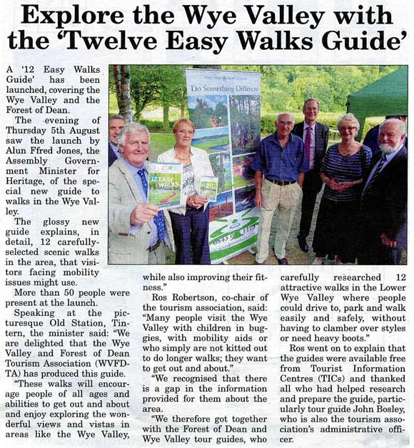12 Easy Walks booklet