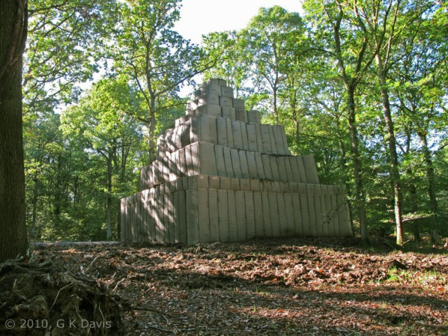 Hill 33 on the Forest of Dean Sculpture Trail