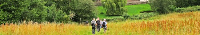 Walkers near Redbrook