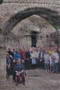 Photo of Lancaut Church service