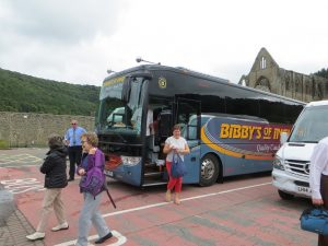 Bibby's Tour at Tintern