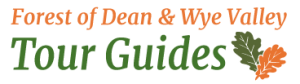 An image showing the Forest of Dean and Wye Valley Tour Guides logo