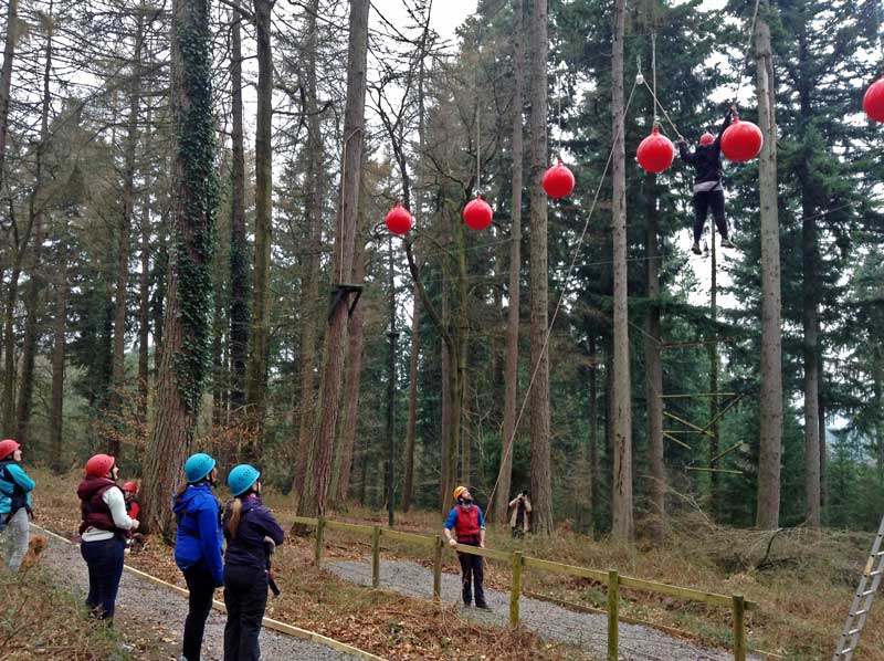 A photo of Bloggers at Forest of Dean Adventure