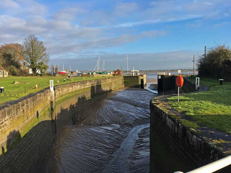 A photo of Lydney Harbour