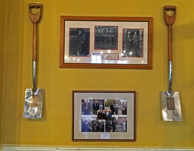 A photo of the Royal Spades in the Speech House